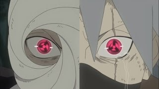 Obito & Kakashi awakening Mangekyō Sharingan for first time! English Dubbed HD.