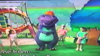 Closing To Barney Waiting For Santa 1991 VHS