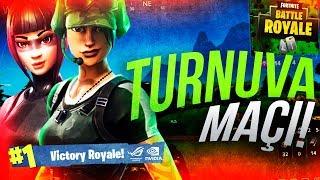 Asus & Nvidia 19 Mayıs Özel Turnuva Maçı | Fortnite Battle Royale