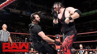 Seth Rollins vs. Kane: Raw, Oct. 30, 2017