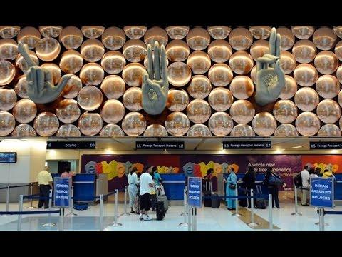 New Delhi Airport Arrivals | Indira Gandhi International Airport T3 | Immigration check