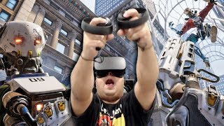 WE IN THE F#%KING FUTURE!! WHERE MY MIXTAPE AT!? [ROBO RECALL] [OCULUS RIFT]