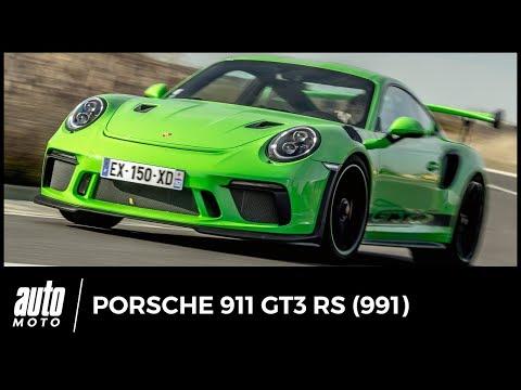 Porsche 911 GT3 RS ESSAI sortie de piste