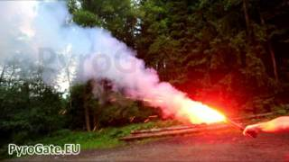 Emergency red signal flare by PyroGate.EU