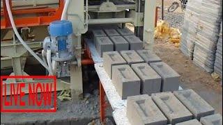 Latest Technology 2017 Fully Automatic Fly Ash Bricks Machine Gujarat India #SON