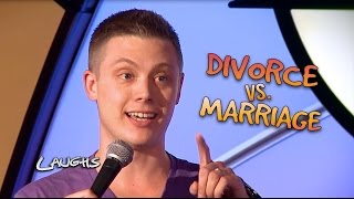 Divorce is WAY Less Scary than Marriage  |  Adam Norwest Stand-up Comedy