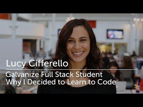 Why I Decided to learn to Code – Lucy Cifferello