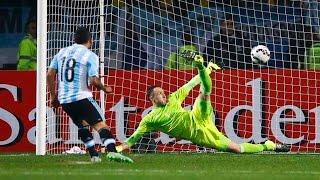 Penales Argentina vs Colombia - Copa América 2015 HD