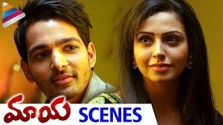 Nandini Rai Proposes To Harshvardhan Rane | Maaya Telugu Movie Scenes | Telugu Filmnagar