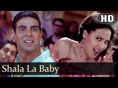 শালা লা বেবী | গান Andaaz | অক্ষয় কুমার | লারা দত্ত | অলকা Yagnik | পক্ষের গানে | Filmigaane