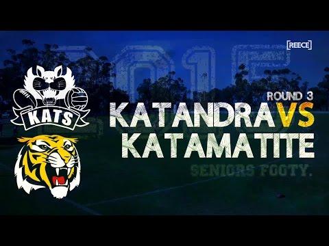 Round 5: Katandra vs Katamatite - Seniors