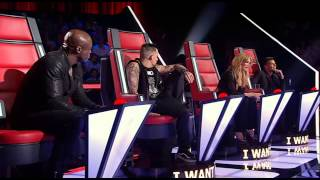 Kaity Dunstan - Brand New Key - The Voice Australia Season 2
