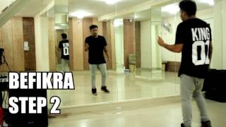How to Dance Like Tiger Shroff || Dance tutorial || BefikrA Steps || Rockstar Dance Studio