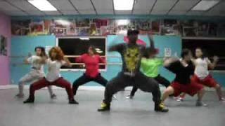 U4RIA HIP HOP DANCE *Teddy's Booty Shakin' Class*