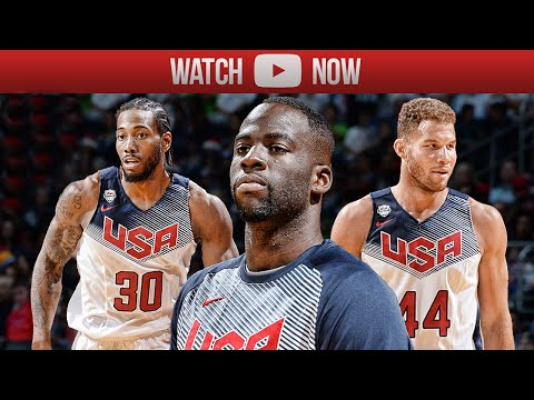 watch 2015 Team USA Basketball Showcase Highlights White vs Blue - Best Plays, Dunks & Moments (HD)
