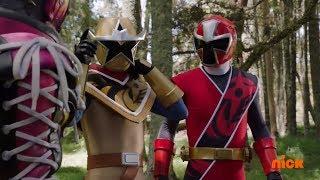 Power Rangers Ninja Steel - Power Rangers vs Shoespike Round 1   Episode 13