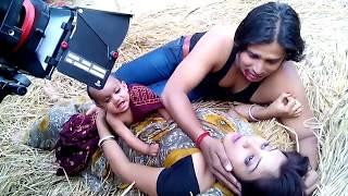 मैथिली फिल्म लाइव शुटिंग || Maithili Film Sutting 2018 || जियब अहि  लागि ||