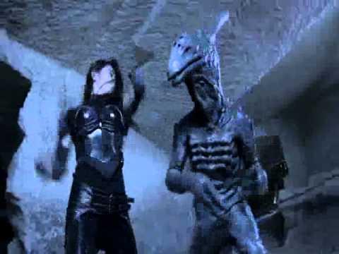 greatest fight scene of all time /alien vs ninja/