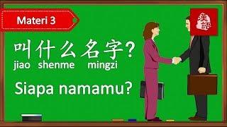 Belajar Tanya Jawab Perkenalan Dalam Bahasa Mandarin Percakapan