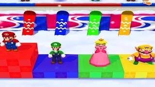 Mario Party 7 - All Skill Minigames