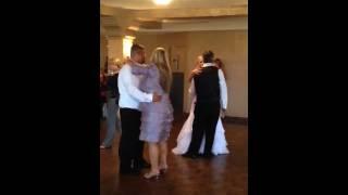 Step-dad/step-mom dance