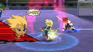 Inazuma Eleven GO Strikers 2013: Zanark Domain Vs Inazuma Legend Japan Wii (Dolphin/Gameplay)