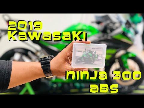 GOT THE NEW 2019 KAWASAKI NINJA 300 ABS  !!