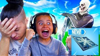*NEW* FREEZE TRAP GAMEPLAY! I CANT BELIEVE MY 10 YEAR OLD BROTHER DID THIS... FORTNITE BATTLE ROYALE