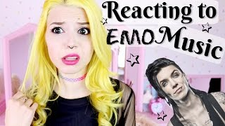 Reacting To Emo Bands