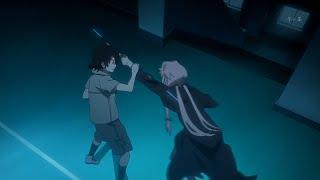 Mirai Nikki - Yuki fights Yuno