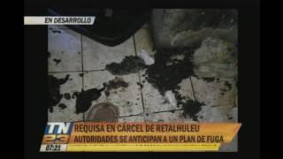 Autoridades anticipan plan de fuga en cárcel de Retalhuleu