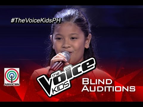 Elha Nympha sings 'Vision Of Love' | Blind Audition | The Voice Kids Philippines 2015