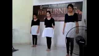 I love you Lord Interpretative Dance (Doxology)GOD'S TEMPLE CHRISTIAN CHURCH