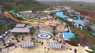Here's a birds-eye view of all the fun at Aquamagica