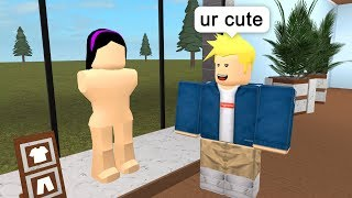 HE THOUGHT THE MANNEQUIN WAS REAL! - Roblox Adventures