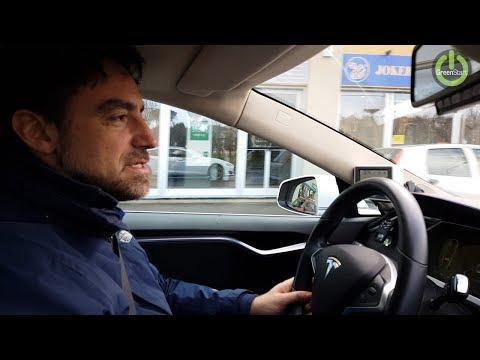 A Firenze la città dei taxi elettrici sulla Tesla Model S di Gregorio DC