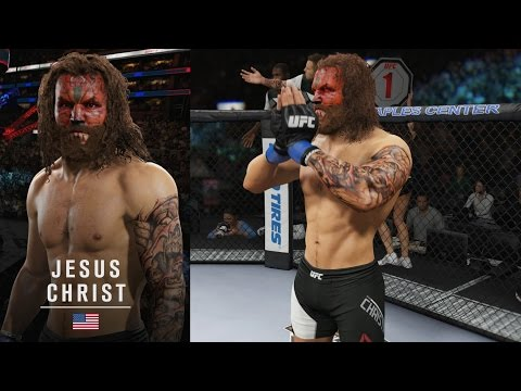 Xxx Mp4 Moses Vs Jesus Christ Holy Battle EA Sports UFC 2 Ultimate Team Gameplay 3gp Sex