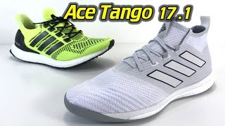 Adidas ACE Tango 17.1 TR (Grey Camo Pack) - One Take Review + On Feet