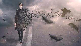 Photoshop Tutorial   Create Feather Disintegration