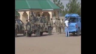 Watch Nigerian Army Storm Sambisa Forest