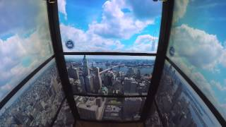 World Trade Center elevator video