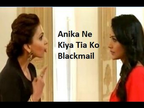 Anika Ne Kiya Tia Ko Blackmail Robin Ko Lekar | Ishqbaaz Upcoming Episode 2017
