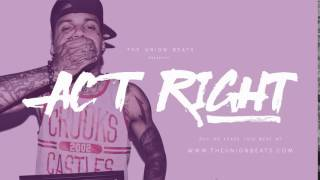 Kid Ink Type Beat 2016 | Dj Mustard | Ty Dolla - Act Right (With Hook)