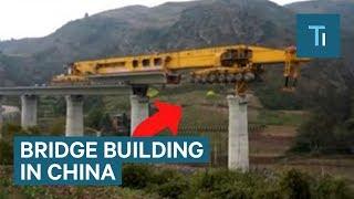580-Ton Monster Machine Is Building Bridges Across China
