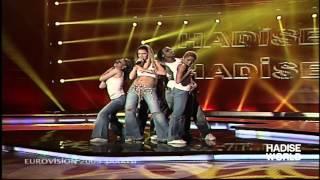 Hadise - Düm Tek Tek (TRT Eurovision 2009)