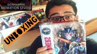 Transformers the last knight Optimus Prime Voyager-Unboxing