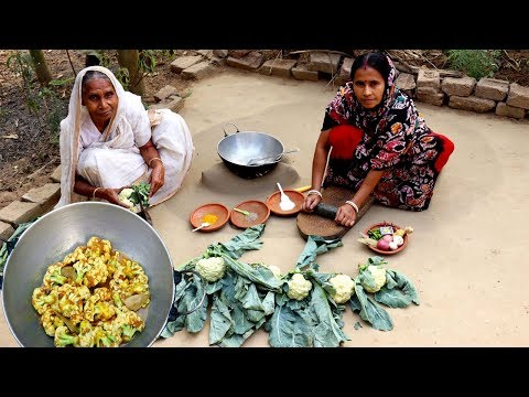 Xxx Mp4 Mather Tatka Fulkopi Bhapa Recipe Farm Fresh Cauliflower Bhapa In Mud Oven 3gp Sex