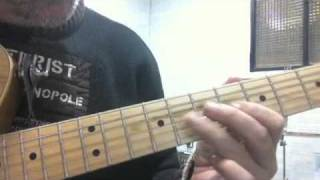STATIONARY TRAVELLER GUITAR SOLO COVER