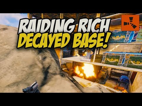 Xxx Mp4 The Richest Decayed Base I Ve Ever Raided Rust Solo Survival Gameplay 3gp Sex