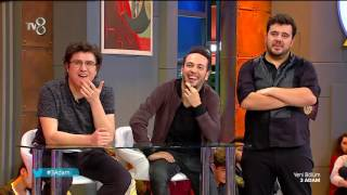 Baturay Özdemir Stand Up Gösterisiyle 3 Adam Sahne'de!   3 Adam